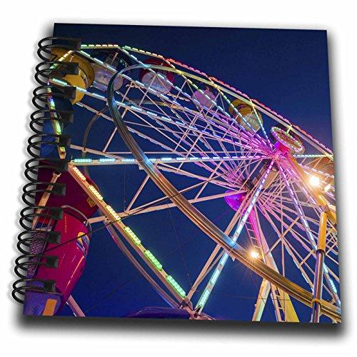 3dRose Danita Delimont - Amusement parks - Ferris Wheel at Saint Peters Fiesta, Gloucester, Massachusetts - Mini Notepad 4 x 4 inch (db_259453_3) (Mini Gloucester)