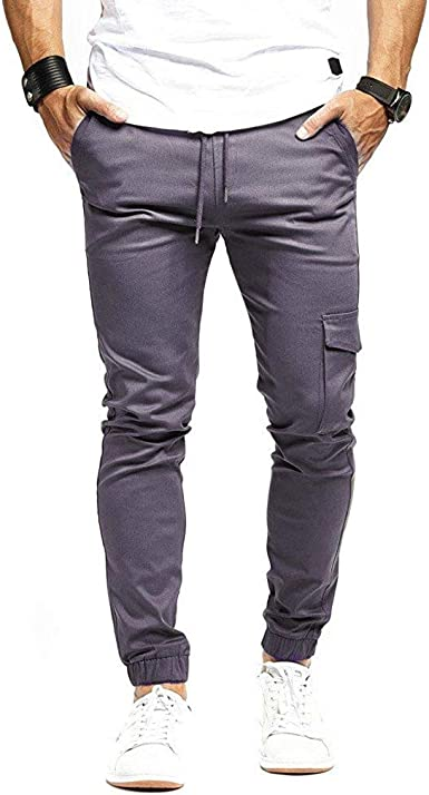 Pantalones para Hombre, Pantalones Casuales Moda Trabajo ...