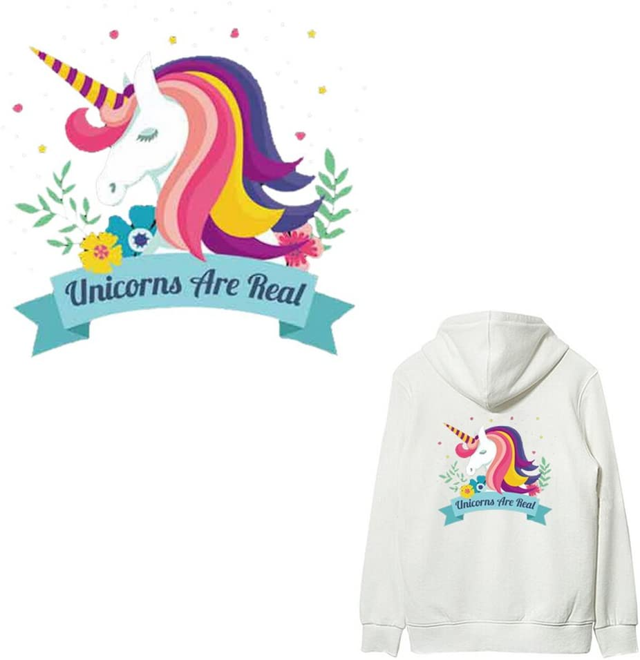 Horse Iron On Patch Diy Heat Transfer Stickers Applique Clothing Fabric T Shirt
