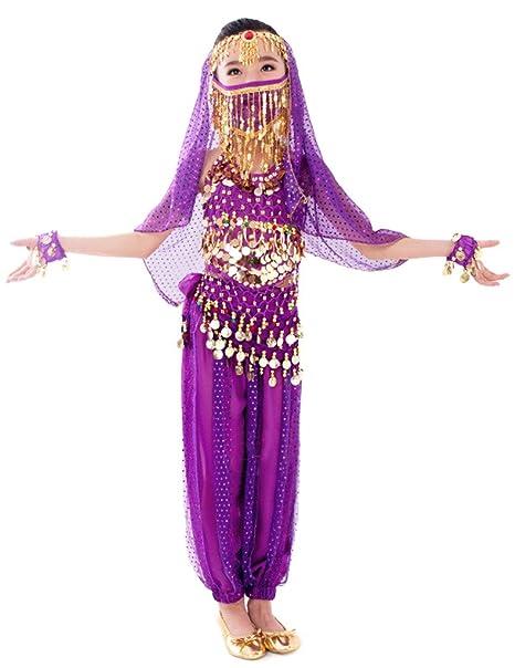 Eyekepper Bellyband estilo brillante para niña cuentas de danza de la India disfraz