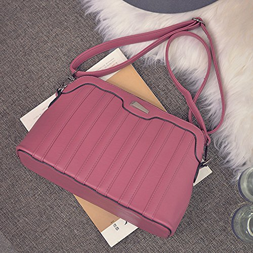 Leather Shoulder Bag Autumn Women and New Demiawaking Shell Bag Leisure Winter PU 2017 wATPxqI