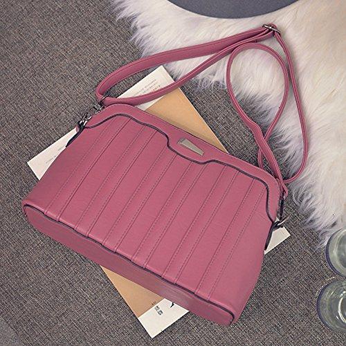 Leather Shoulder Bag Autumn Women and New Demiawaking Shell Bag Leisure Winter PU 2017 wATPxqI