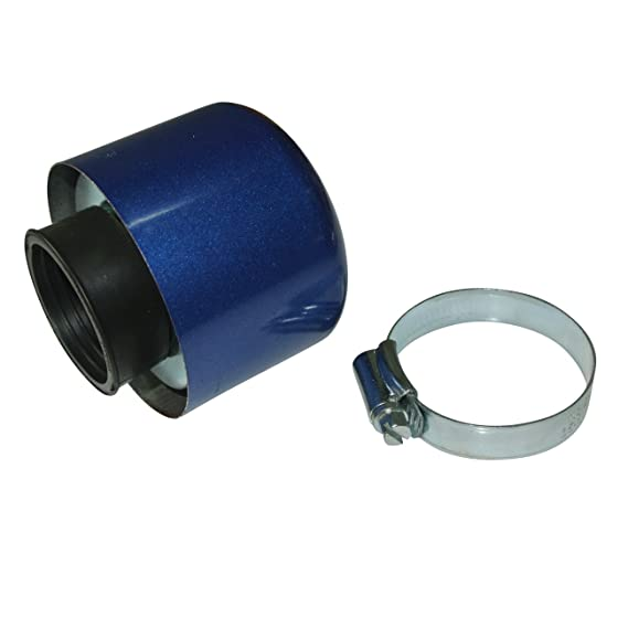 Atv,rv,boat & Other Vehicle Air Filter Air Box 35mm Straight For Shielded Cone Chinese Scooter 4 Stroke 50cc Blue