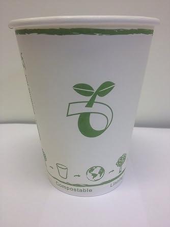 Biodegradable vasos de papel: Amazon.es: Alimentación y bebidas