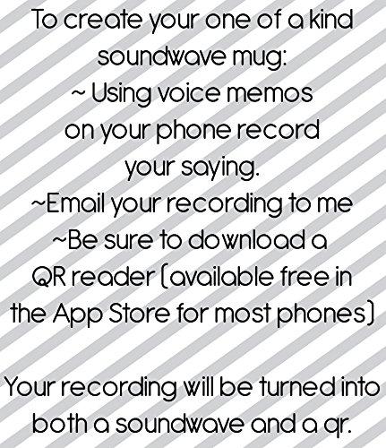 Autism Awareness Soundwave QR Mug Hear a Sample by DipsyDoodlebug (Image #2)