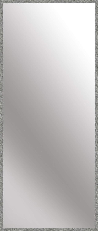 nielsen HOME Wandspiegel Star, Str. Grau matt, Aluminium, ca. 70x170 cm