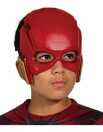 DC Justice League - Máscara de Flash para niños, accesorio disfraz licencia oficial, talla