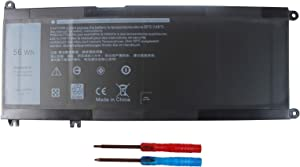 Shareway 33YDH Replacement Laptop Battery Compatible with Dell Inspiron 15 3579 5587 7577 7588 17 3779 7773 7778 7779 Latitude 13 3380 Vostro 15 7570 7580 PVHT1 P30E