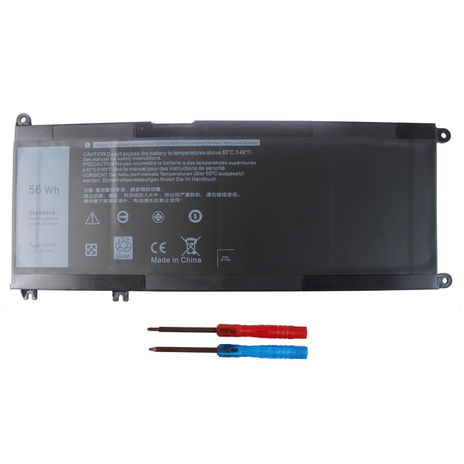 Bateria 33ydh Dell Inspiron 15 7577/17 7000/17 7773/17 7778;