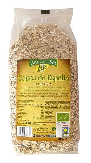 Hijas Del Sol Bio Copos De Espelta - 500 gr - [Pack de 4]