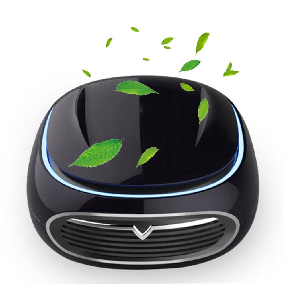 Clock Purificación del Ión Negativo Inteligente del Purificador del Aire del Vehículo USB del Formaldehído PM2.5: Amazon.es: Hogar