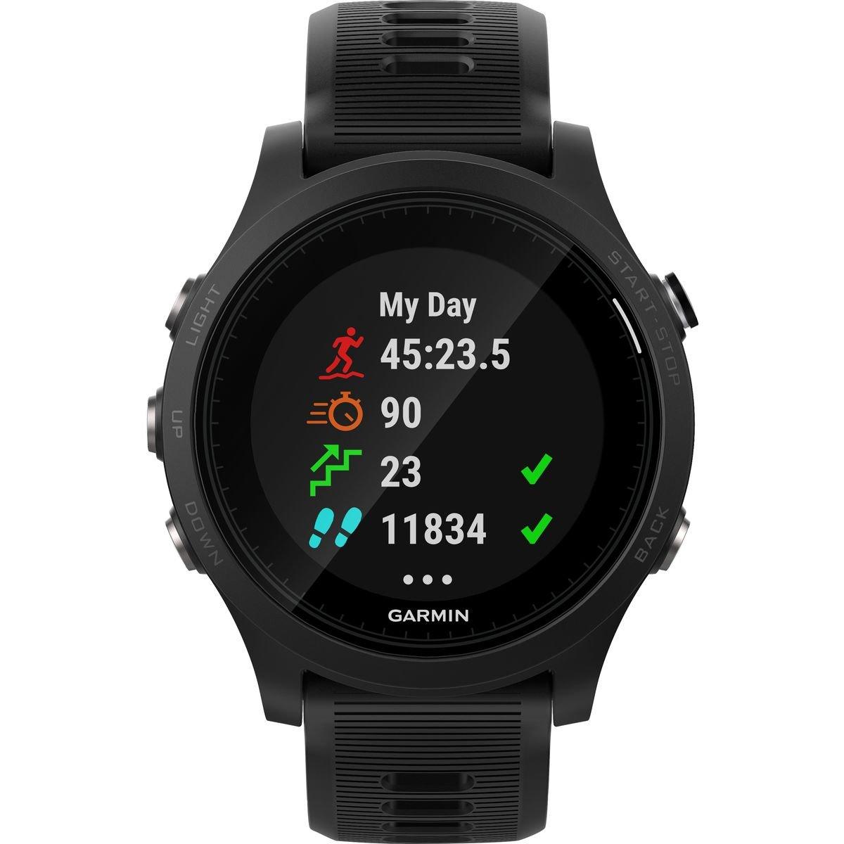 Garmin Forerunner 935 GPS Watch Black/Black Band, One Size