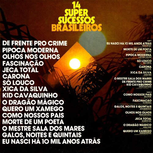 14 Super Sucessos Brasileiros