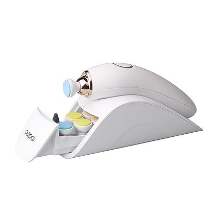 Limador de uñas de bebé eléctrico, PEIPAI Versión mejorada Juego de manicura y pedicura para bebé recién nacido y mujeres 7 en 1 Herramienta de ...