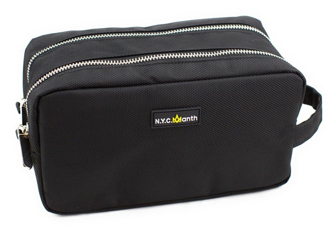 Toiletry Bag for Men, Waterproof Wash bag, Travel Bag, Water Resistant Small Shaving Bag, Portable Shaving Dopp Kit for Men