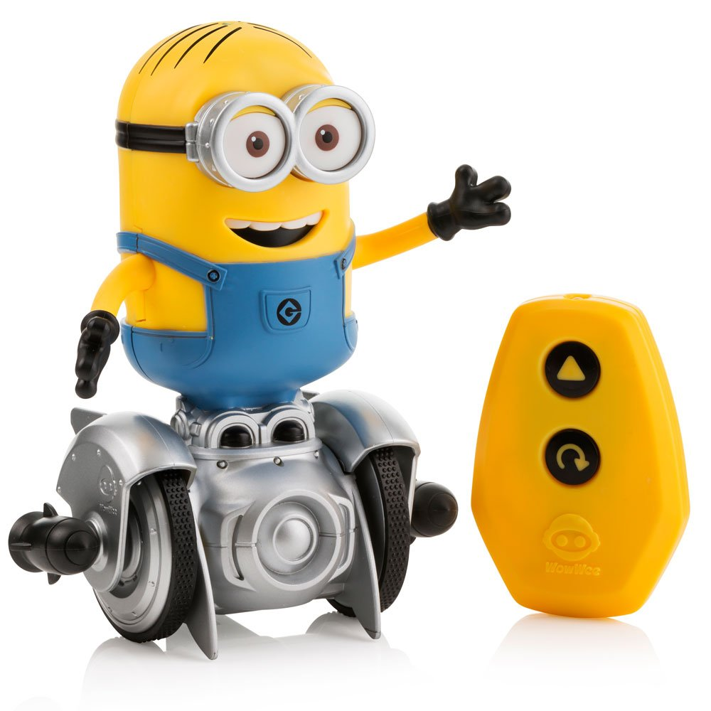 WowWee Mini Minion MiP Turbo Dave - Miniature Remote-Controlled Robot Toy by WowWee (Image #1)