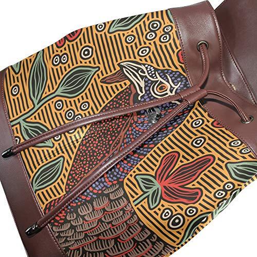 Multicolore Femme Taille Porté À Main Unique Pour Sac Dragonswordlinsu Au Dos x8B6OwgAq