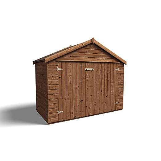 Dunster House de madera jardín cobertizo de almacenamiento para ...
