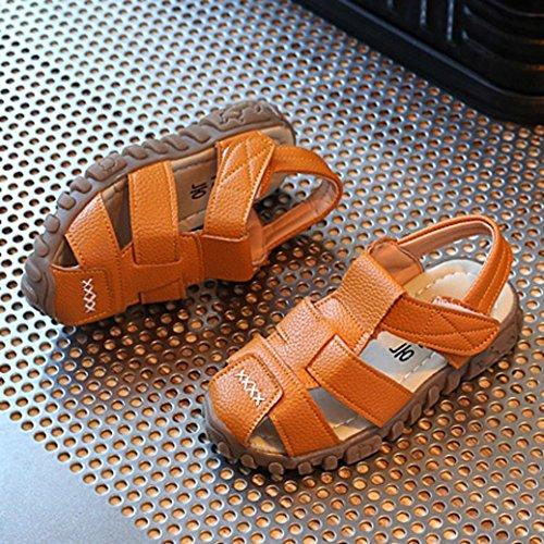 BZLine Baby Kindermode Sneaker Kinder Jungen Mädchen Sommer Casual Sandalen Gelb