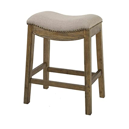 Amazoncom Nada Home Brands Sadie 25 Counter Height Stool With