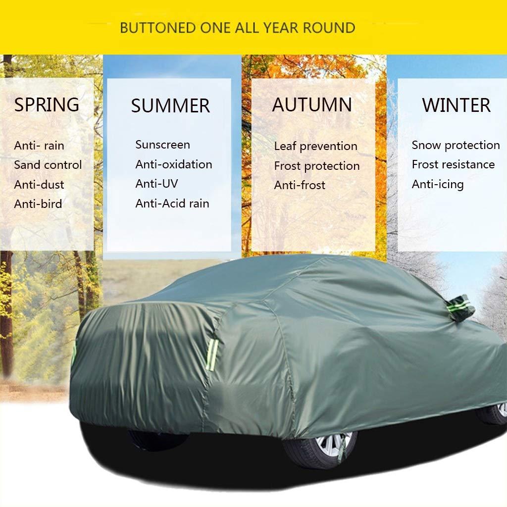 Cubierta para coche Compatible con Porsche Boxter cubierta del coche a prueba de agua//a prueba de polvo//a prueba de lluvia//Snowproof Anti-UV ara/ñazos duradero resistente y transpirable lona