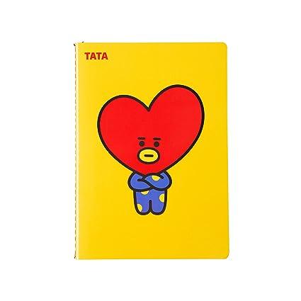 BT21 Tata Nota A5: Amazon.es: Oficina y papelería