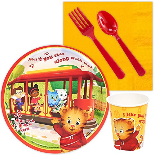 BirthdayExpress Daniel Tiger Party Supplies - Snack Party Pack