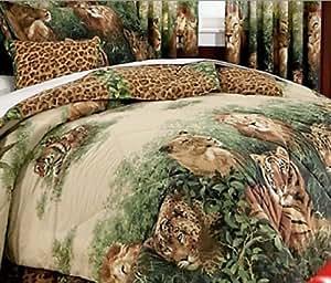 Amazon Com Lion Leopard Tiger Jungle Safari Wild