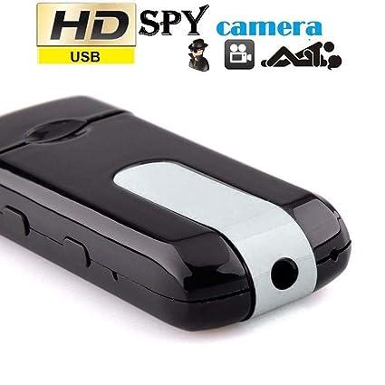 Mini cámara oculta espía DV DVR U8 disco USB HD Cam Detector de movimiento 720x480