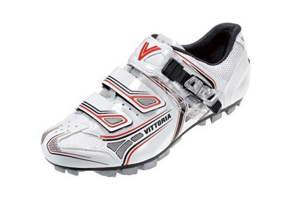 Vittoria Drehmoment Weiß Rot Schuhe EUR 47, Weiß Rot