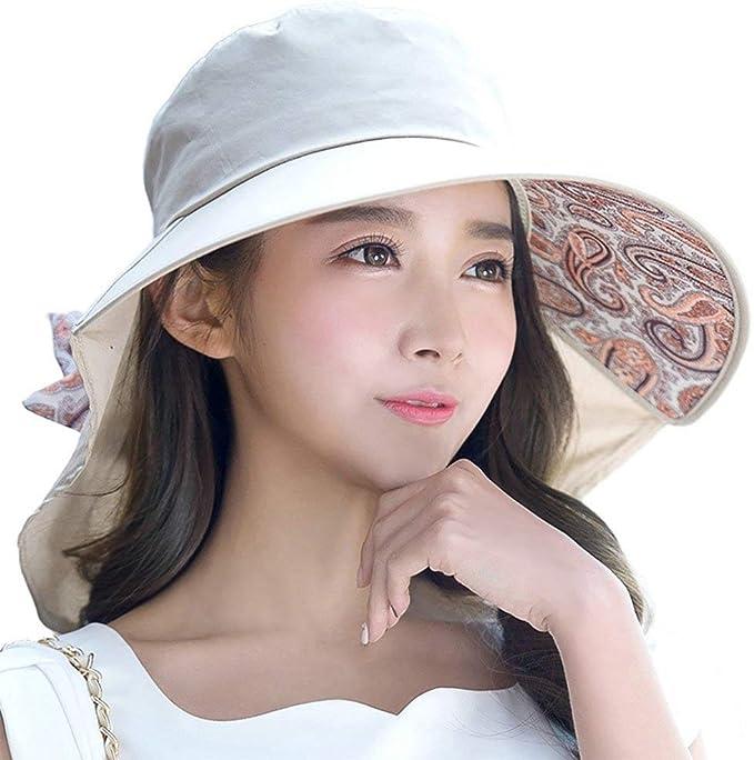 SIGGI - Gorra de verano con visera y protección para el cuello ...