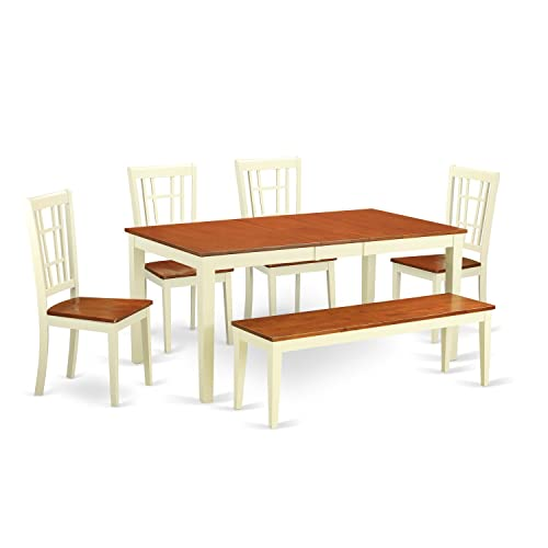 5 Piece Dining Room Sets Amazon Com: Cherry Dining Room Table Set: Amazon.com