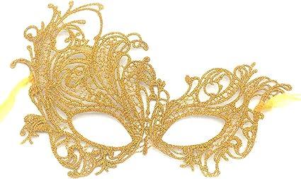 Masquerade Ball Fancy Dress Party ORO Pizzo Masquerade Maschera