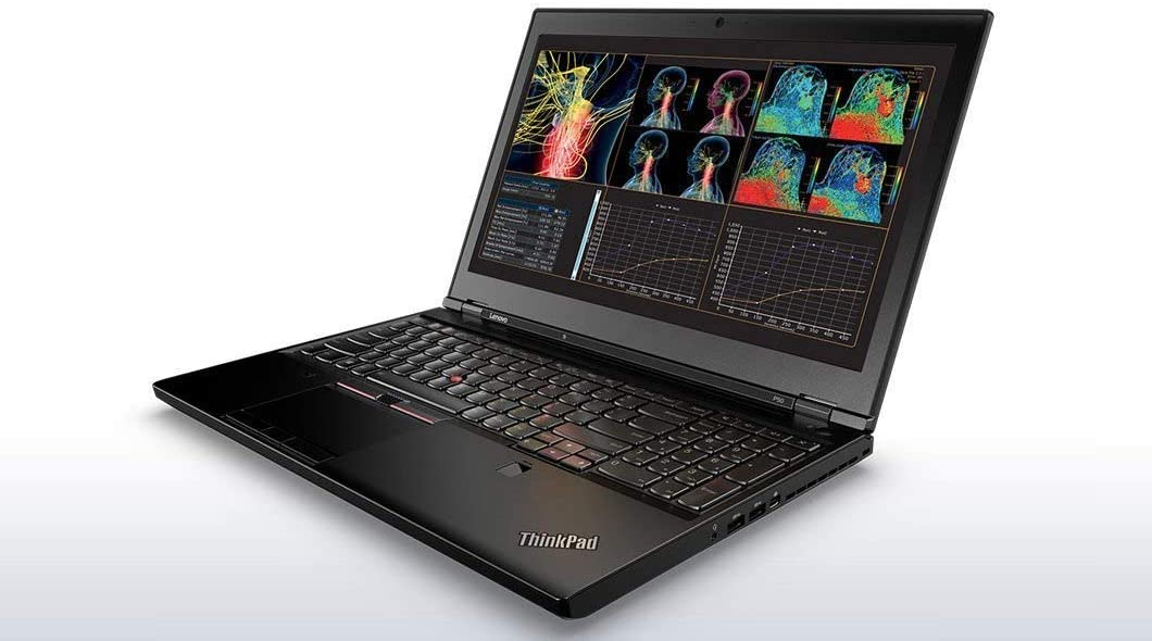 "Lenovo ThinkPad P50 Workstation Laptop - Windows 10 Pro - Intel Xeon E3-1505M, 16GB RAM, 512GB SSD 15.6"" FHD IPS (1920x1080) Display, NVIDIA Quadro M2000M 4GB VRAM (Renewed)"