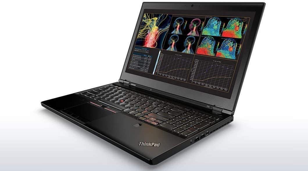 "Lenovo ThinkPad P50 Workstation Laptop - Windows 10 Pro - Intel Xeon E3-1505M, 16GB RAM, 512GB SSD 15.6"" FHD IPS (1920x1080) Display, NVIDIA Quadro M2000M 4GB VRAM (Renewed)"