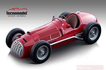 New Tecnomodel Tmd18152a Ferrari F1 275 1950 1 18 Model Lino Die Cast Model Amazon De Spielzeug