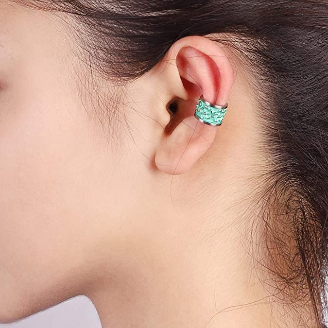 Hypoallergenic Titanium Ear Climber Gift for her Comfortable  for Sensitive Ears Quality Modern Jewelry Crawler Earrings Up the Ear Cuff