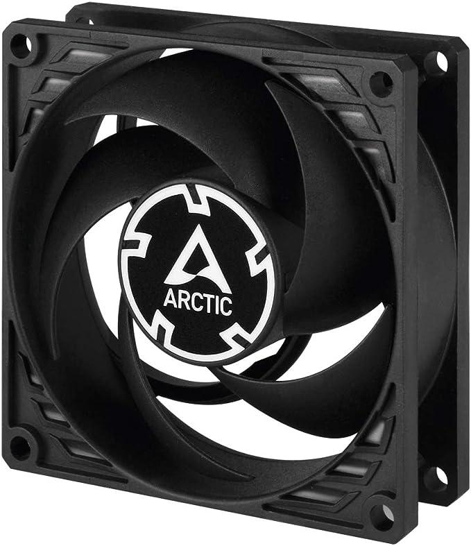 ARCTIC P8 – 80 mm Ventilador de Caja para CPU, Motor Muy Silencioso, Computadora, 3000 RPM – Negro: Amazon.es ...