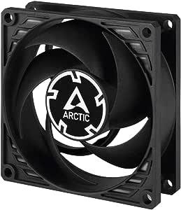 ARCTIC P8 PWM PST - 80 mm Ventilador de Caja para CPU con PWM Sharing Technology (PST), Motor Muy Silencioso, Computadora, 200-3000 RPM - Negro: Amazon.es: Informática