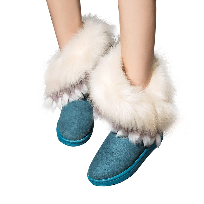 LOSORN ZPY Damenschuhe Winterschuhe Schnee Stiefel Boots Kurzschaft Bootie  Stiefeletten Outdoor: Amazon.de: Schuhe & Handtaschen