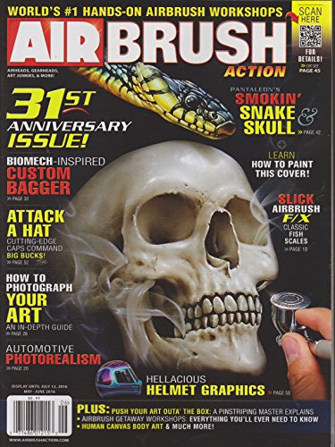 Airbrush Magazine Action - Air Brush Action Magazine May/June 2016