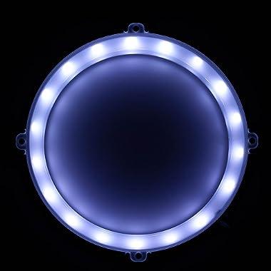 Blinngo Cornhole LED Lights, Ultra Bright Standard Cornhole Night Light for Family Backyard Bean Bag Toss Cornhole Game, Four Color Options, Long-Lasting Over 72 Hours, 2 Set