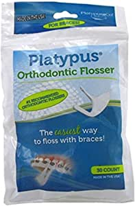 Platypus Ortho Flosser for Braces, 150 Flossers