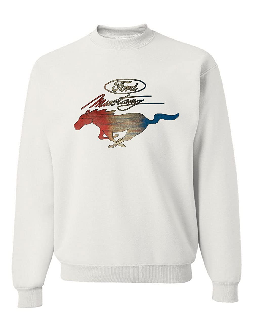 Ford Mustang Logo Sweatshirt GT Shelby Cobra Boss 302 Sweater