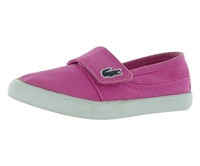 16ae1745 Amazon.com | Lacoste Girl's Kids' Marice Slip-On Sneaker Toddler ...