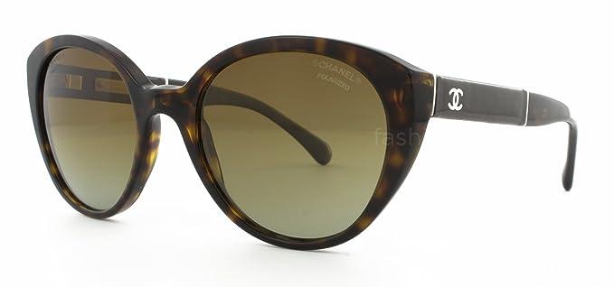 Gafas de Sol Chanel CH5252Q DK TORTOISE / POLAR BROWN ...