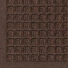 Andersen 280 Waterhog Fashion Polypropylene Fiber Entrance Indoor/Outdoor Floor Mat, SBR Rubber Backing, 10-Feet Length X 4-Feet Width, 3/8-Inch Thick, Dark Brown