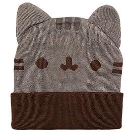 Pusheen Beanie With Ears - Gray | Cat Ear Beanie 4