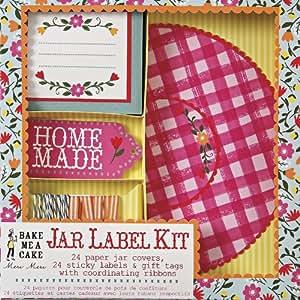 Jam Jar Label Kit