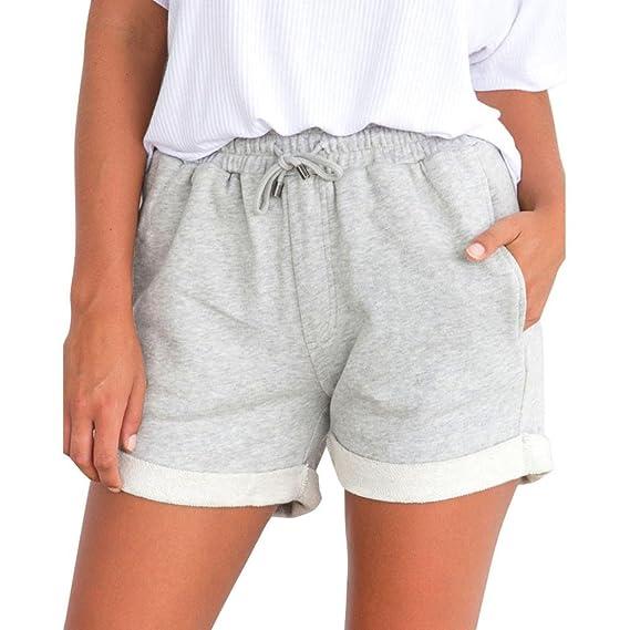 schön und charmant achten Sie auf Großhandelspreis 2019 Bekleidung AMUSTER Damen Mädchen Hot Pants Loose Fit Shorts ...